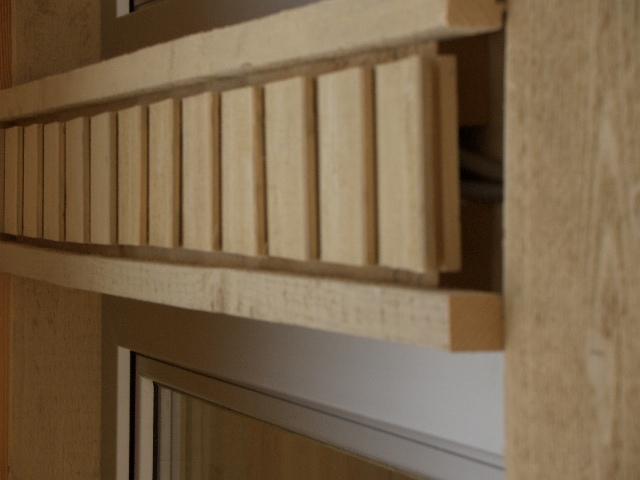 Detailbild Musterhaus Fellbach in der Ausstellung Eigenheim & Garten bei Stuttgart von Lehner Holzhaus Bonndorf