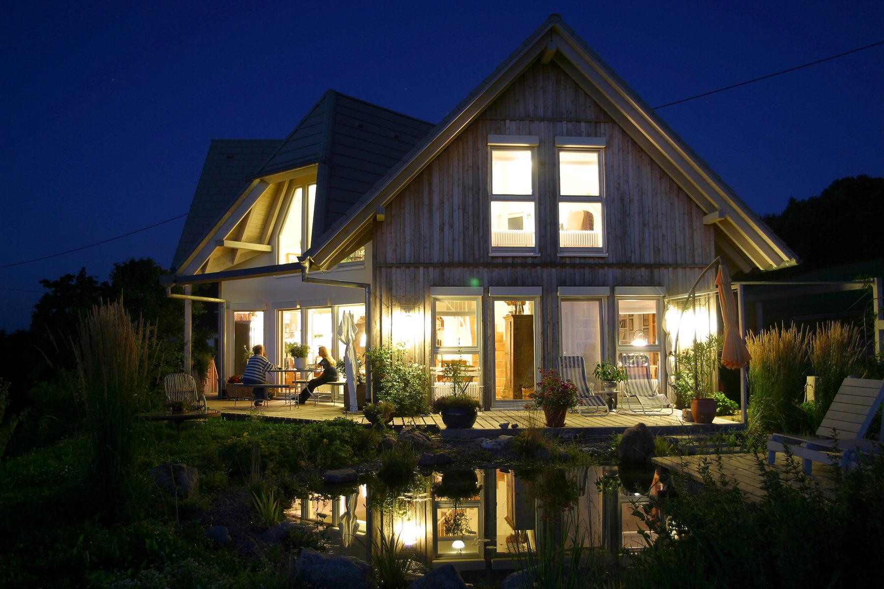 Förderung des Holzhausbaus
