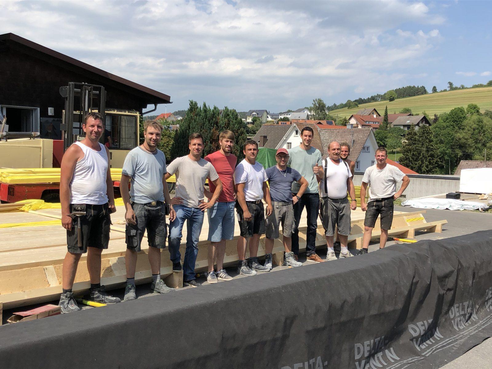 Schönes Wochenende vom Lehner-Holzhaus-Team